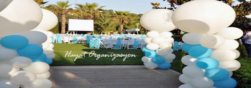 balon ve masa süsleme organizasyonu