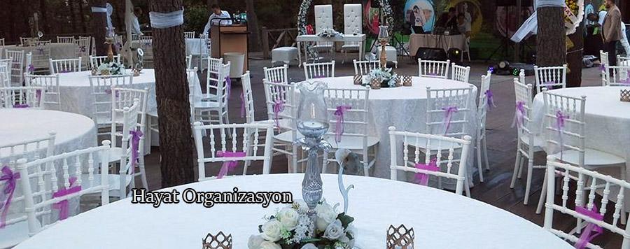 nişan ve düğün merasimi süsleme