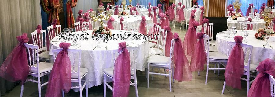 düğün ve davetlerde sandalye süsleme