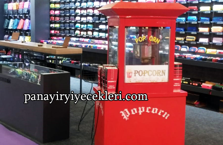 Popcorn Arabası Ve Patlamış Mısır Arabası