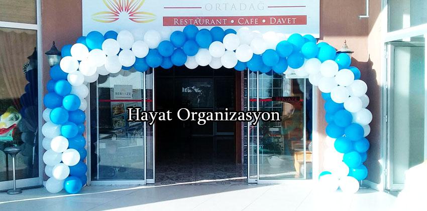 sünnet organizasyon zincir balon süslemeleri
