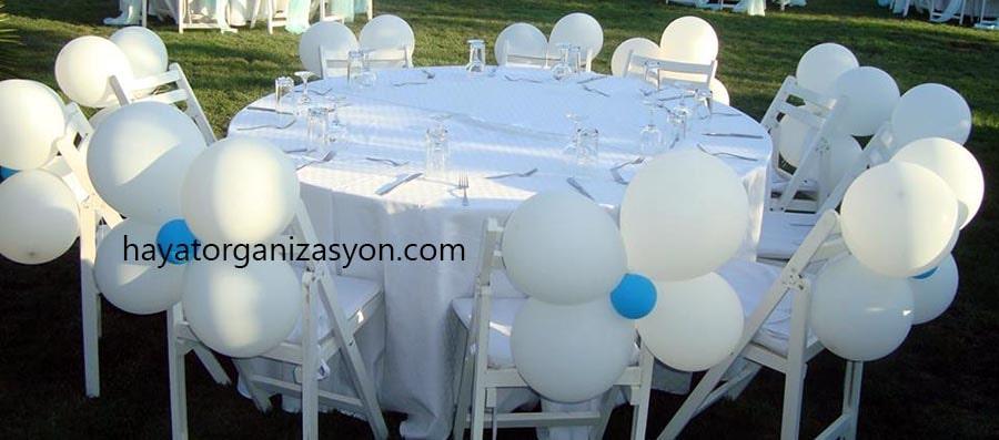 balon süsleme sünnet düğünü