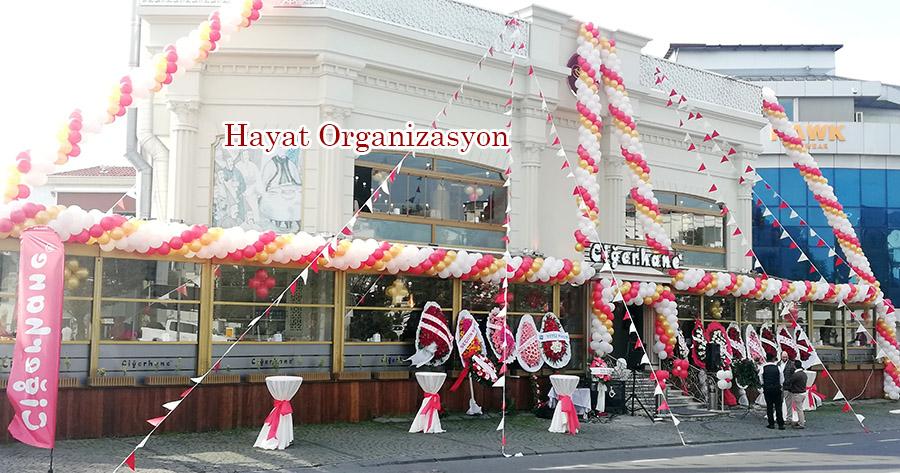 ciğerhane florya açılış organizasyonu