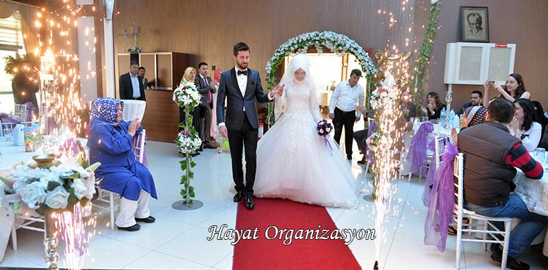 gelin damat girişi düğün