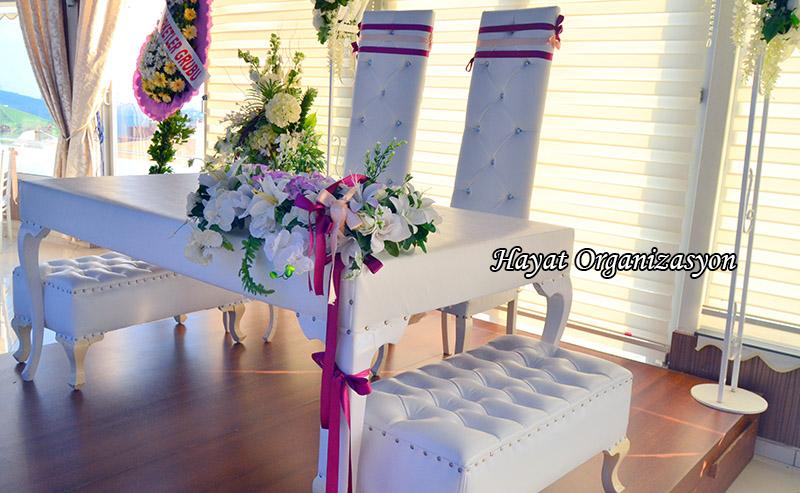 gelin masası süslemesi düğün