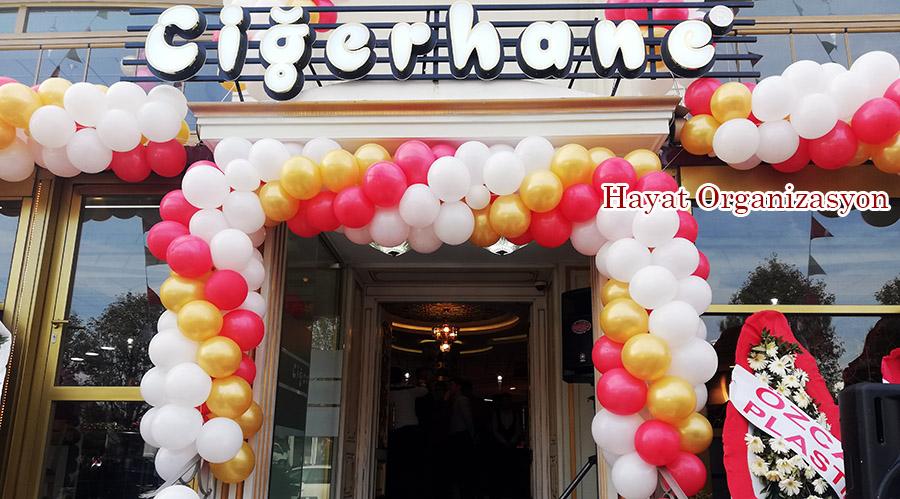 dükkan açılışı balon süsleme