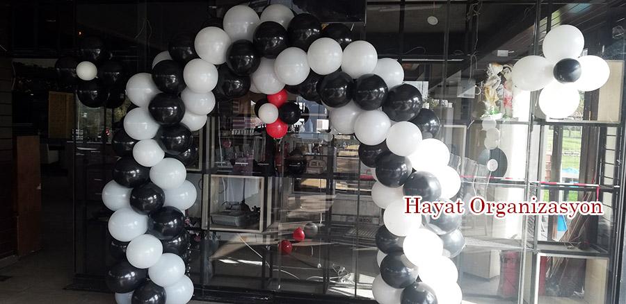 balon süsleme doğum günü