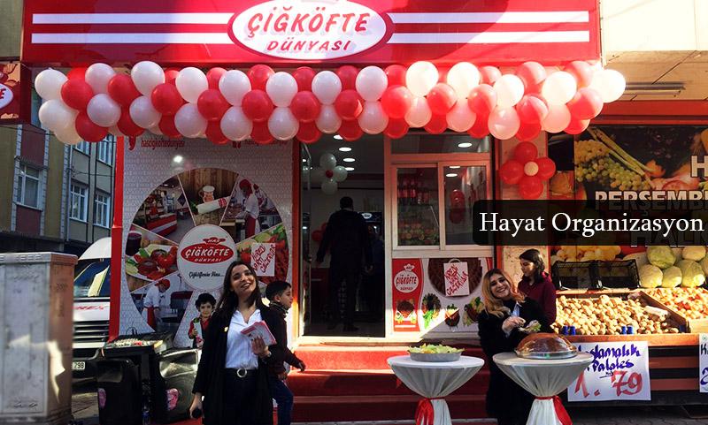 açılış organizasyonu istanbul çiğ köfteci