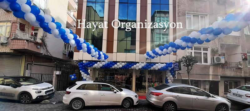 dükkan açılışı balon süsleme organizasyonu
