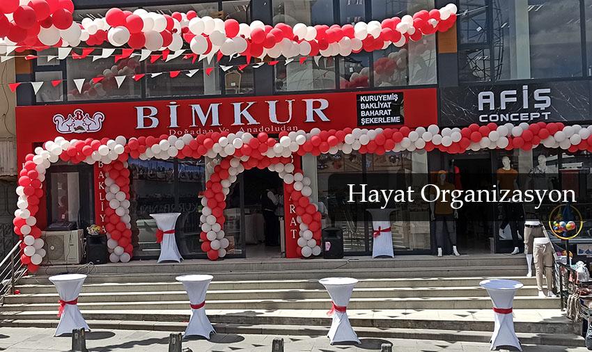 süsleme organizasyonları balon