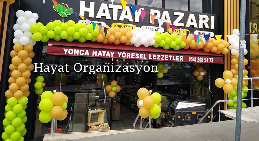 dükkan ve mağaza açılış organizasyonları