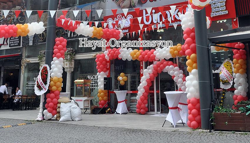 Zeytinburnu dükkan açılış organizasyonu