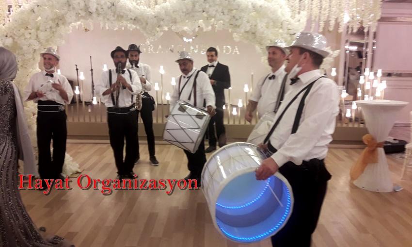 bando takımı ile düğün organizasyonu
