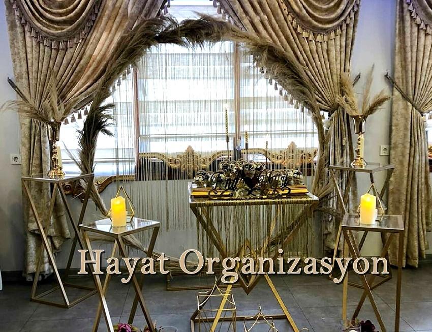 nişan organizasyon nişan masası kiralama