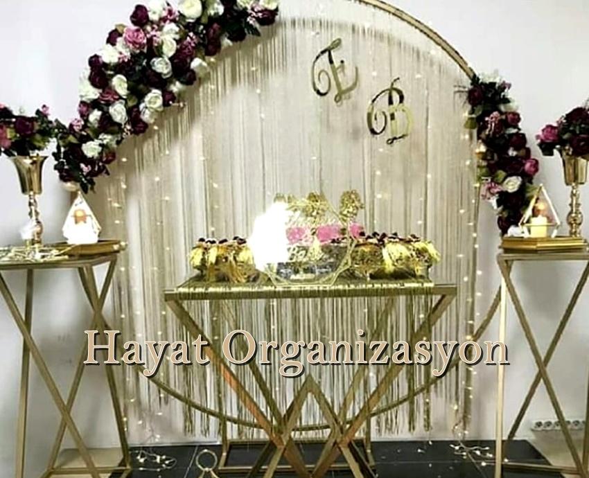 nişan organizasyon nişan masası süsleme