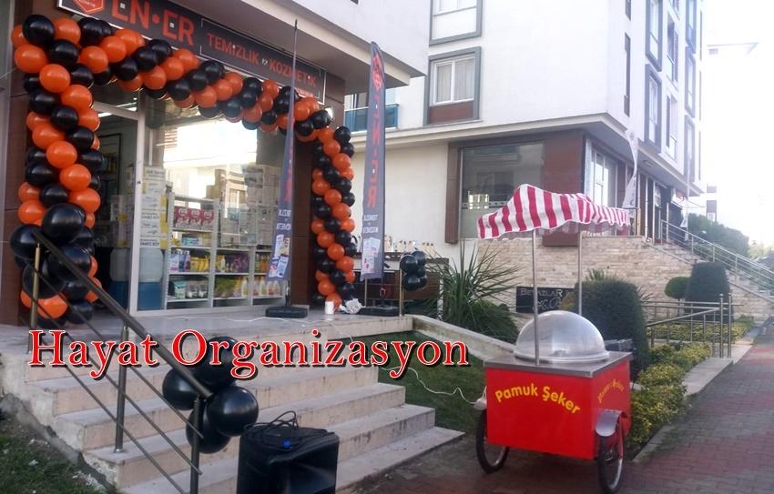 balon süsleme açılış organizasyonu