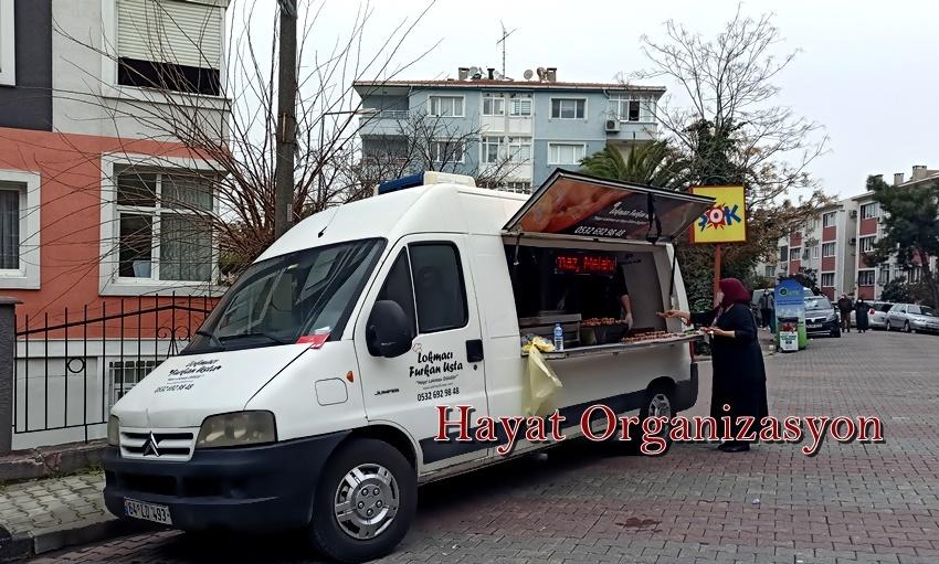 İstanbul lokma arabası kiralama