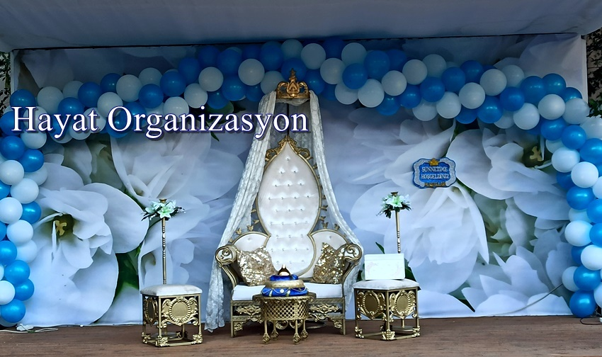 sünnet düğün organizasyon süsleme